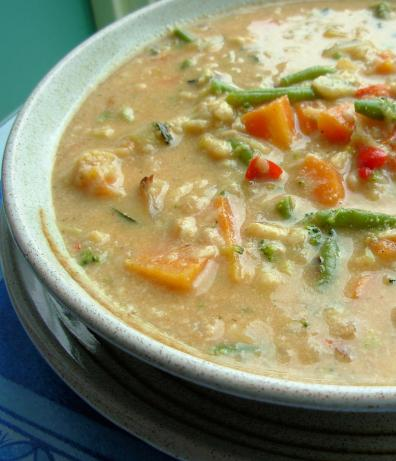 Easy, Creamy Vegetable Soup. Photo by French Tart