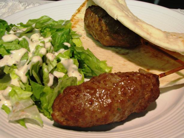 Moroccan Ground Beef Kebab Skewers Recipe - Food.com