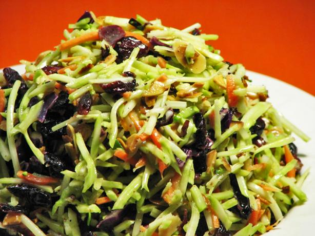 Broccoli Slaw. Photo by Kerfuffle-Upon-Wincle