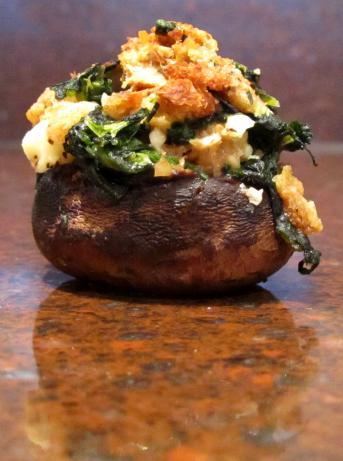 Spinach Stuffed Mushrooms Recipe - Food.com