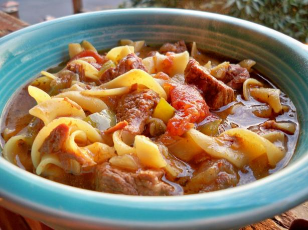 Hungarian Beef Goulash. Photo by Lainey6605