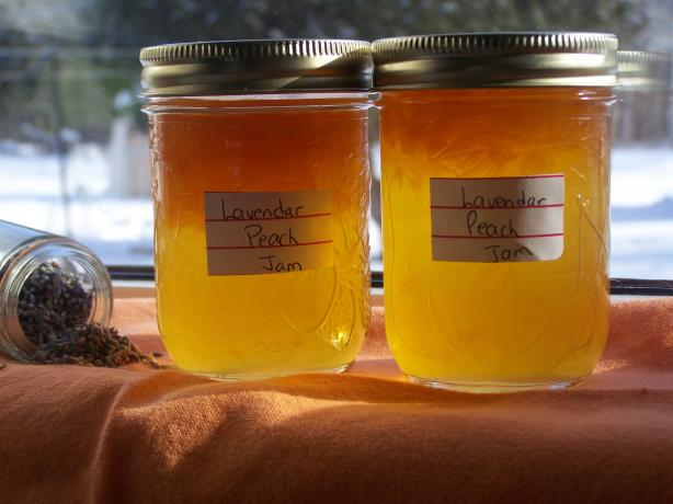 Peach Lavender Jam. Photo by wicked cook 46