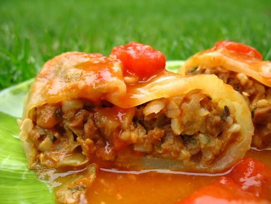 Vegetarian Polish Cabbage Rolls. Photo by LUv 2 BaKE