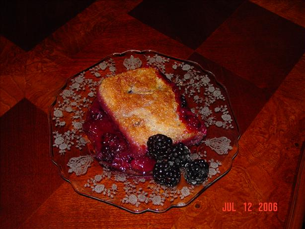 Blackberry Cobbler For 2 Recipe - Dessert.Food.com