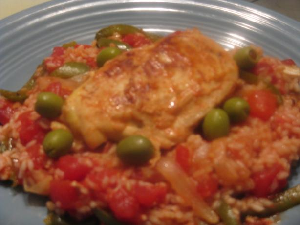 Spanish Chicken and Rice. Photo by kellychris
