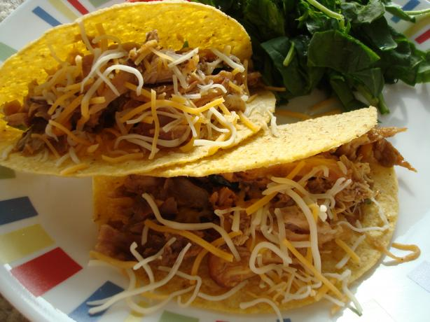 Chile Chicken Slow Cooked Tacos. Photo by Starrynews