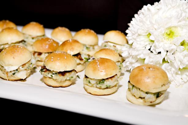 Scallop Burger Sliders With A Cilantro-Lime Mayo Recipe - Food.com