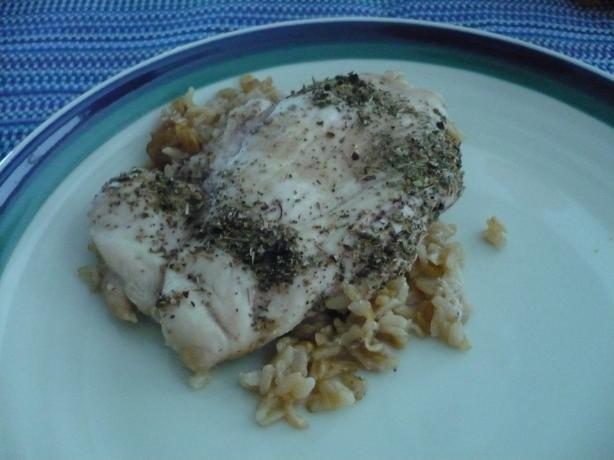 Lemon-Herb Chicken And Rice Bake Recipe - Food.com