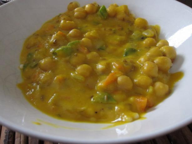 Butternut Squash and Chickpea Stew With Couscous. Photo by Dr. Jenny
