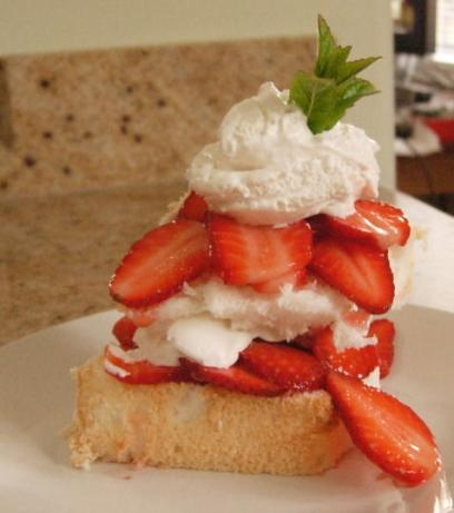 Simple Strawberry Shortcake. Photo by Heirloom