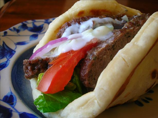 Ground Beef Gyros. Photo by Pam-I-Am
