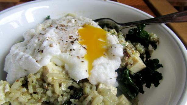 Pumpkin-Seed-Crusted Tofu With Lemongrass Broth, Rice ...