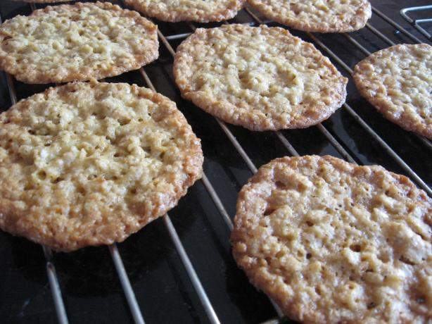 Oatmeal Lace Cookies. Photo by charlie #5
