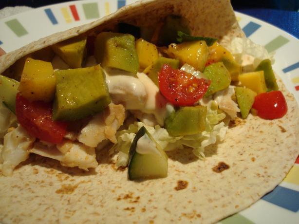 Fish tacos with mango salsa recipe for Fish taco salsa