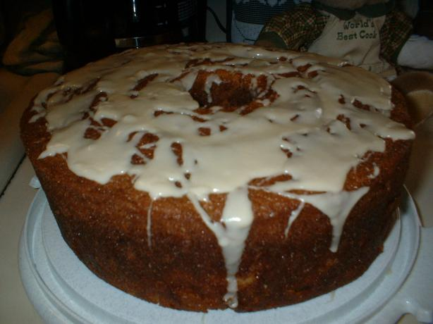 Apricot Brandy And Rum Pound Cake With Peaches Recipe ...