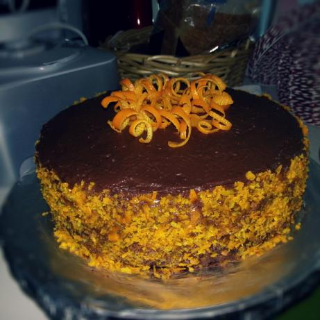 Flourless Orange Cake Nigella