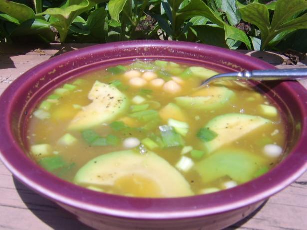 Chicken And Avocado Soup Recipe — Dishmaps