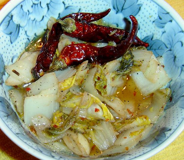 Sweet And Sour Chinese Cabbage Recipe — Dishmaps