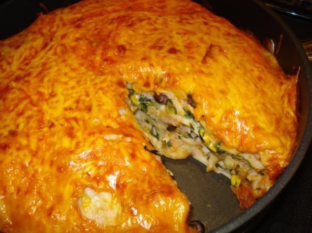 Tortilla Pie Recipe - Mexican.Food.com