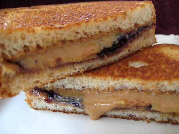 Grilled Peanut Butter and Jelly Sandwich. Photo by gailanng