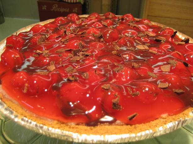 Hershey's Chocolate Cherry Cheese Pie. Photo by Hazeleyes