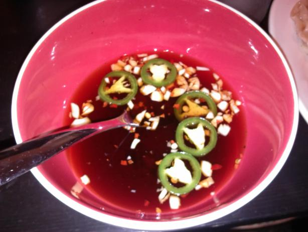 Soy Dipping Sauce (For Pot Stickers or Egg Rolls). Photo by kev53084