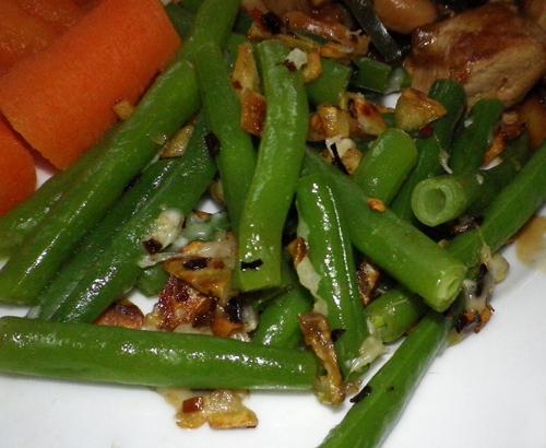 Garlicky Green Beans Recipe - Food.com