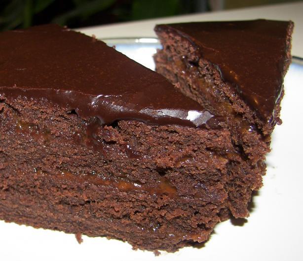 Dark Chocolate Fudge Cake. Photo by Baby Kato