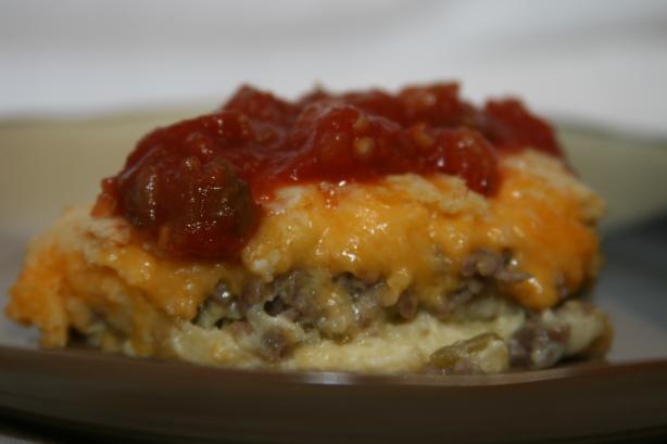 Quesadilla Pie. Photo by Texas Aggie Mom