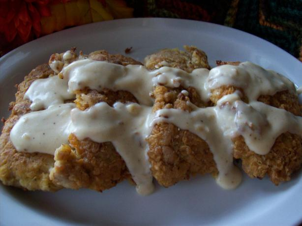 Texas-Style Chicken Fried Steak With Cream Gravy. Photo by Chef ...