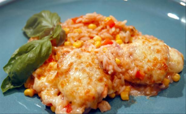 Spanish Chicken And Rice Bake Recipe - Food.com