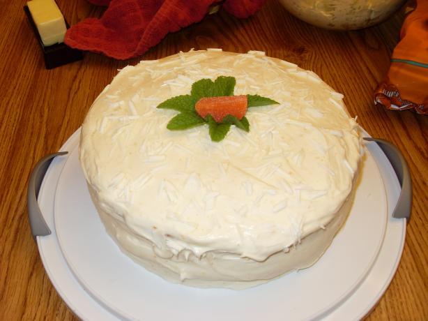 White Layered Cake Recipes: Orange And White Chocolate Layer Cake Recipe