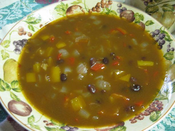 Cuban Black Bean Soup. Photo by Charlotte J