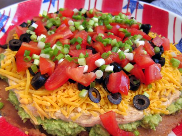 Layer Bean Dip. Photo by Danny's Diner