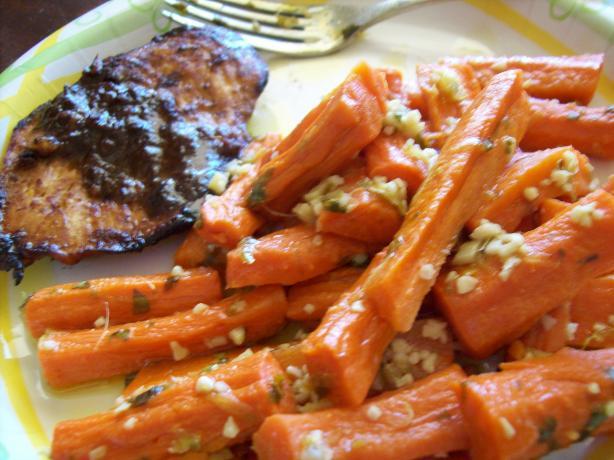 Garlic Gingered Baby Carrots Recipes — Dishmaps