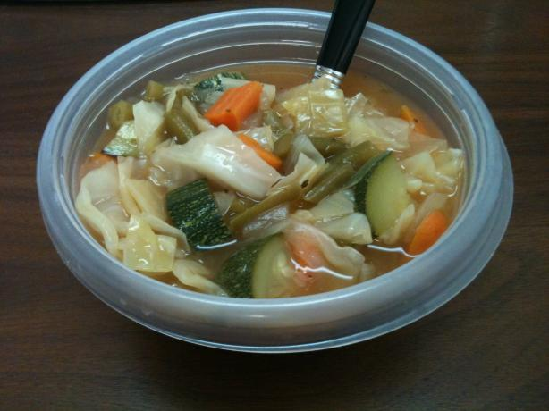 weight watchers 0 point garden vegetable soup recipe