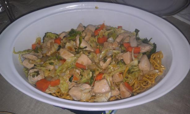 ... -Out Chicken Chow Mein With Crispy Noodles Recipe - Chinese.Food.com