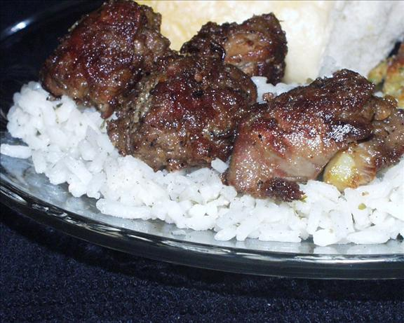 Chicken Livers With Rice. Photo by Marsha D.