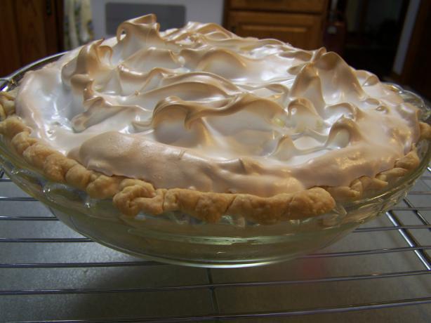 Amish Old Fashioned Cream Pie Recipe