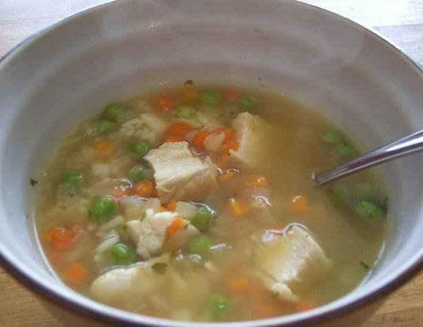 Chicken Lemon Soup W Rice And Vegetables Recipe - Food.com