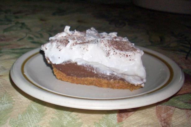 Haupia Chocolate Pie (Lighter Version). Photo by Chef Joey Z.
