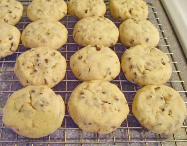 Noah Bedoahs Chocolate Chip Shortbread Cookies) Recipe - Dessert.Food ...