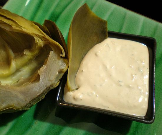 ... Best Dipping Sauce for Steamed Artichoke. Photo by Sandi (From CA