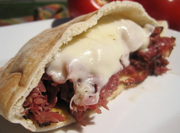 Simple Hot Pastrami And Swiss Sandwiches Recipe Food Com