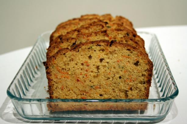 Whole Wheat Zucchini or Carrot Bread. Photo by buttercreambarbie