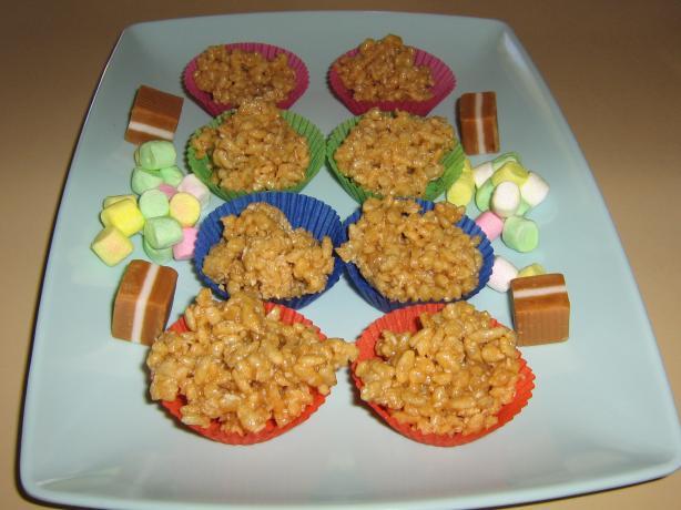 Caramel Crackles easy fast recipe