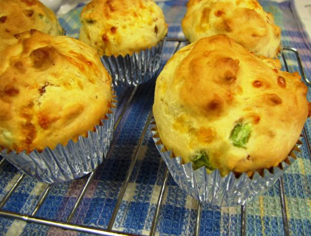 Ham And Cheese Buttermilk Muffins Recipe - Food.com