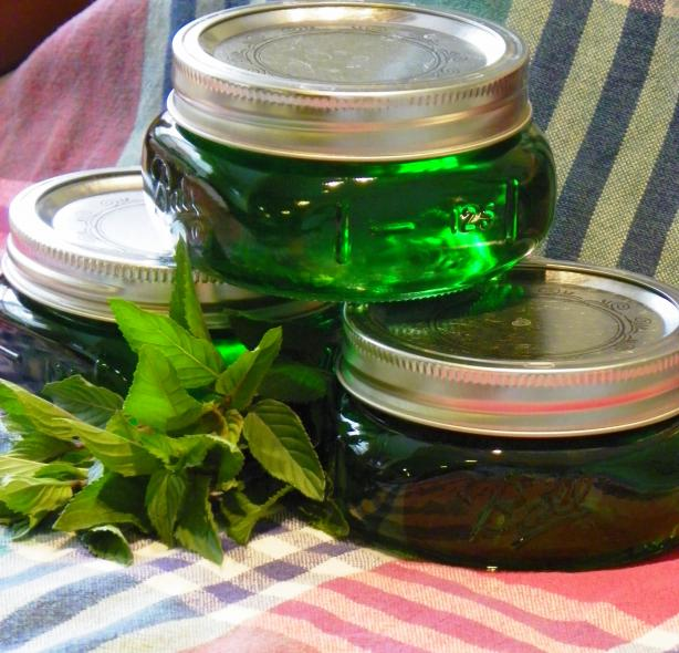 Mint Jelly. Photo by Chef Angie #4