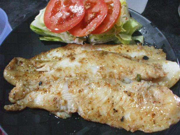 Spicy grilled fish recipe for Grilled white fish recipes