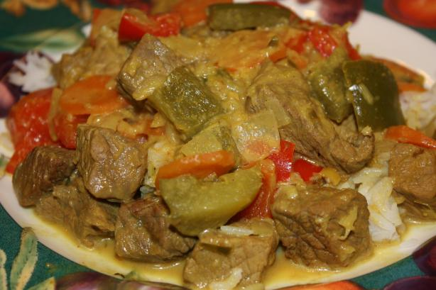 Indonesian Rendang Beef Curry. Photo by Leggy Peggy